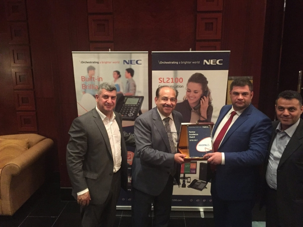 NEC AWARD FOR ASCOTEL