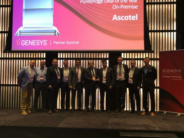 GENESYS AWARD FOR ASCOTEL
